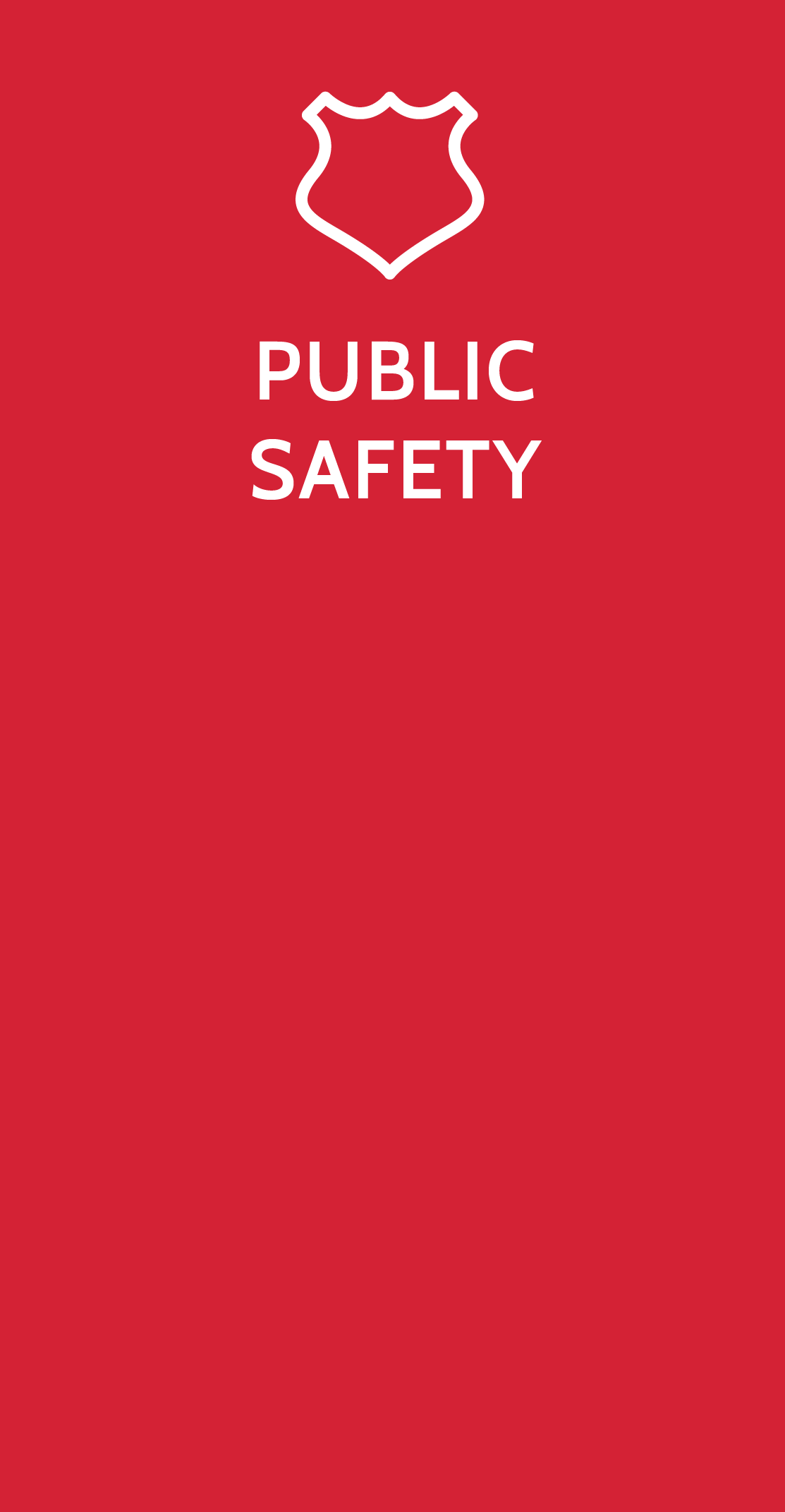 Public Safety Studies